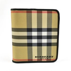 "Burberry Beige ""Nova Check"" Golf Scorecard holder"